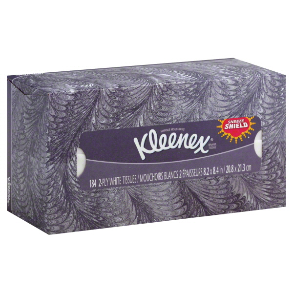 Kleenex White Tissues