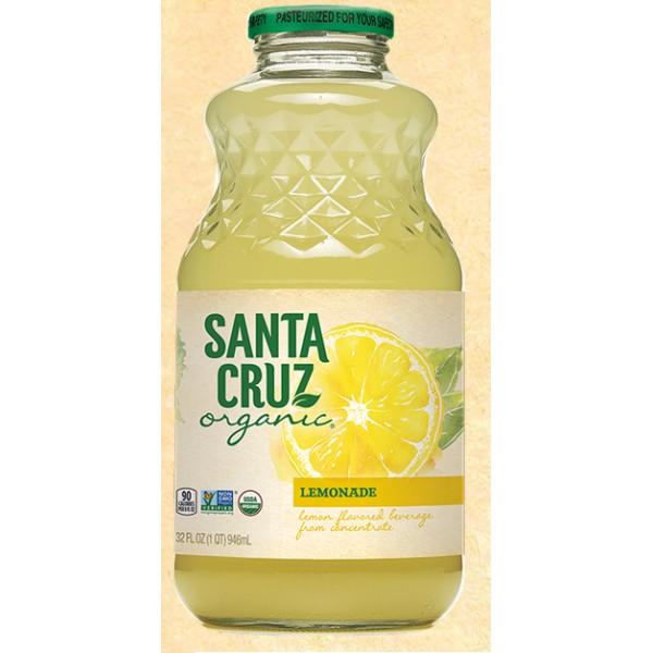 Santa Cruz Organic Lemonade 32 oz