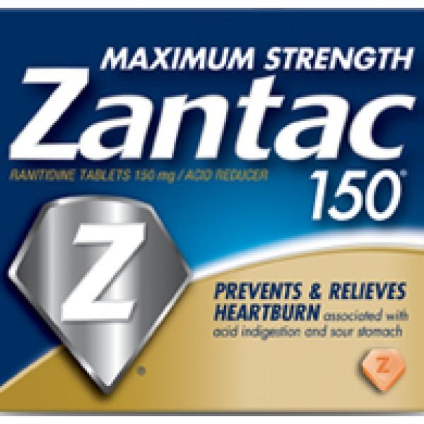 Zantac Zantac Maximum Strength 150 5 Tablets