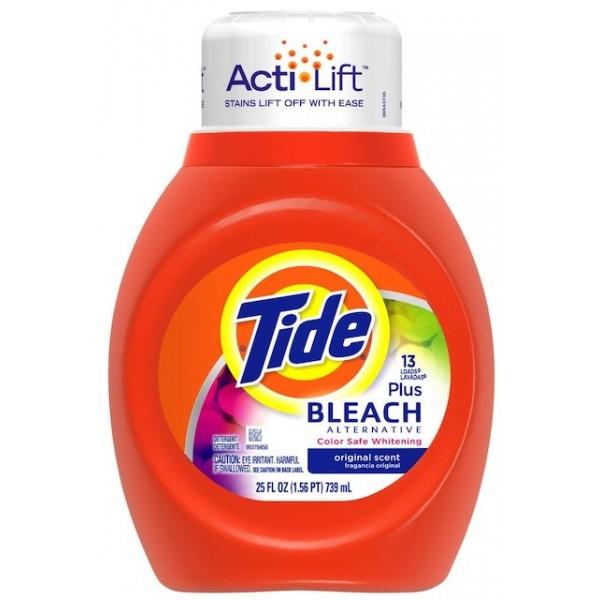 Tide Liquid Detergent Bleach 25 oz