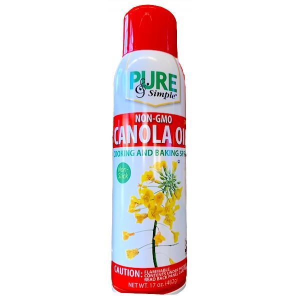 Pure & Simple Canola Oil Spray 17 oz.