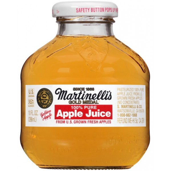 Martinelli Martinelli Apple Juice 10 oz