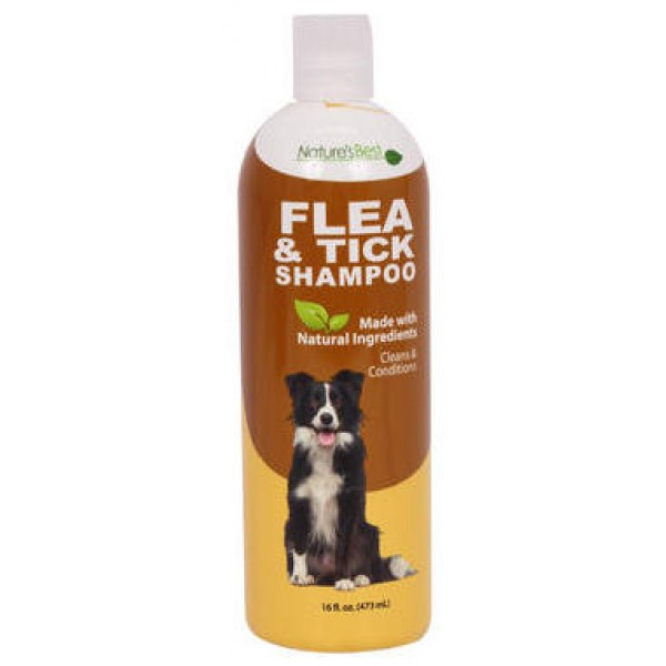 Natures Best Flea & Tick Shampoo 16 oz