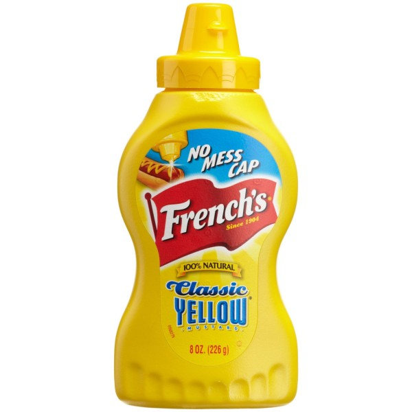 Frenchs Frenchs Yellow Mustard 8 oz