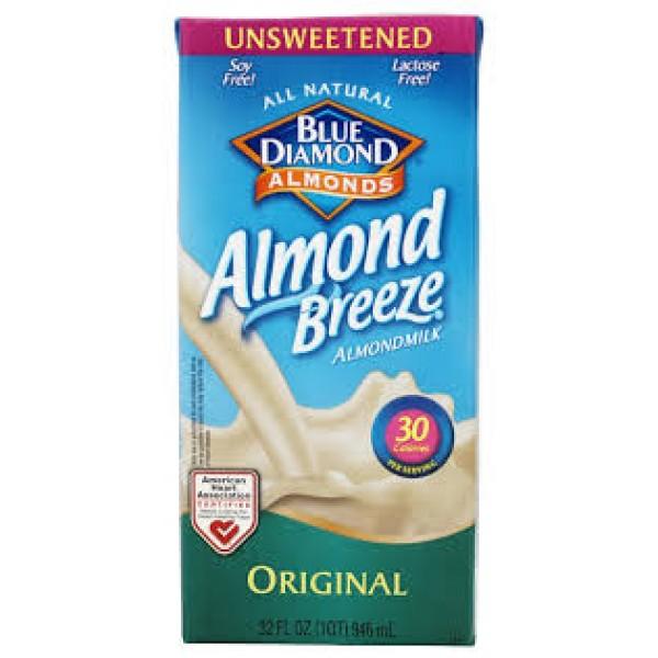 Blue Diamond Blue Diamond Almond Breeze Unsweetened 32 oz
