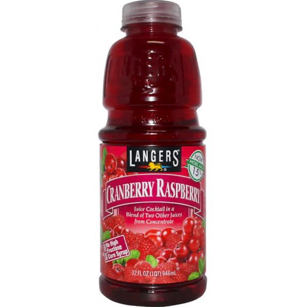 Langers Cranberry Raspberry 32 fl oz