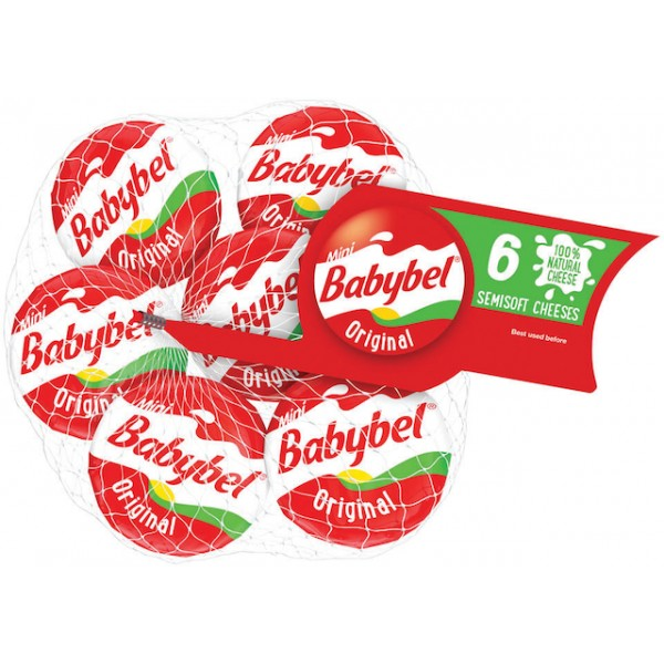 The Laughing Caw The Laughing Cow Mini Babybel Original 4.5 oz