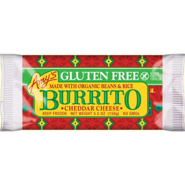 Amys Amys Cheddar Cheese Burrito