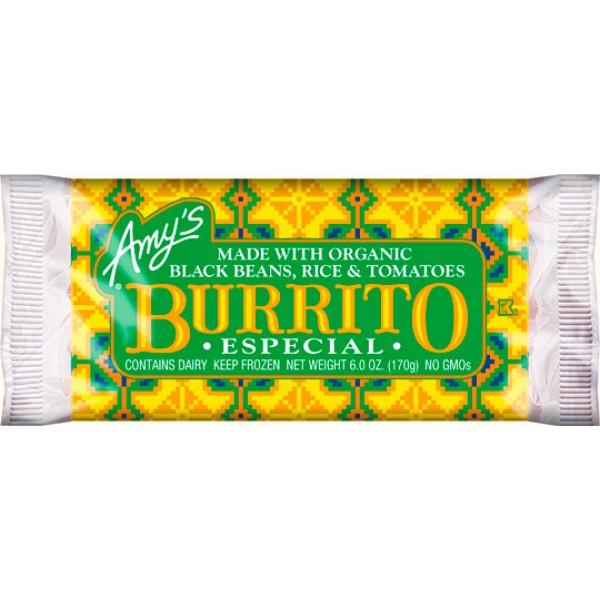 Amys Amys Especial Burrito