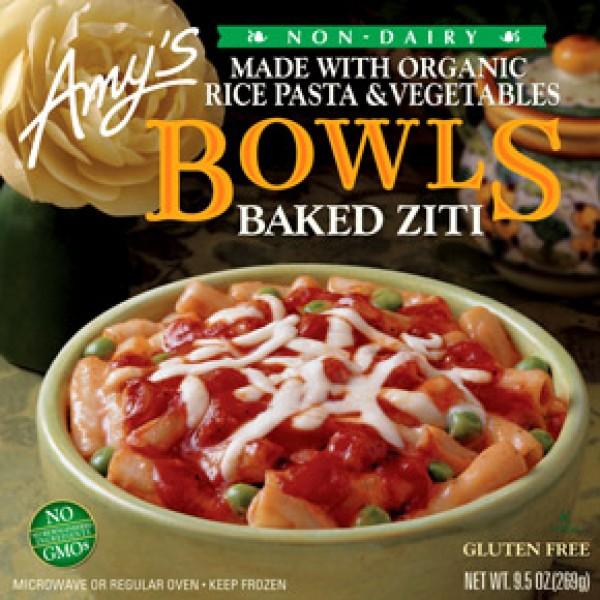 Amys Amys Bowl Baked Ziti 9.5 oz