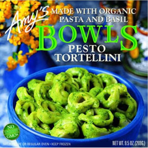 Amys Amys Pesto Tortellini Bowls 9.5 oz