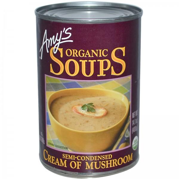 Amys Amys Organic Soups Cream of Mushroom 14.1 oz