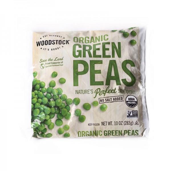 Woodstock Woodstock Organic Green Peas 10 oz