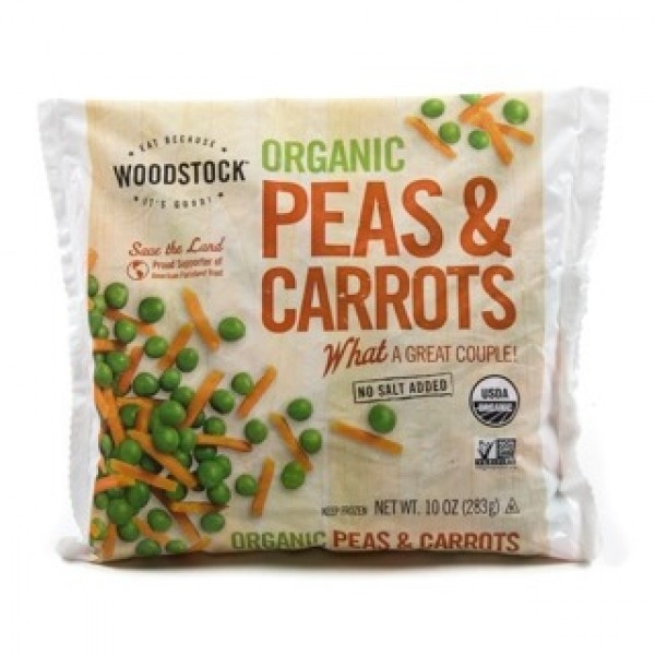 Woodstock Organic Peas and Carrots 10 oz
