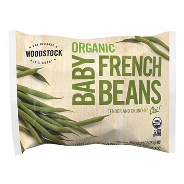 Woodstock Organic Baby French Green Beans 10 oz