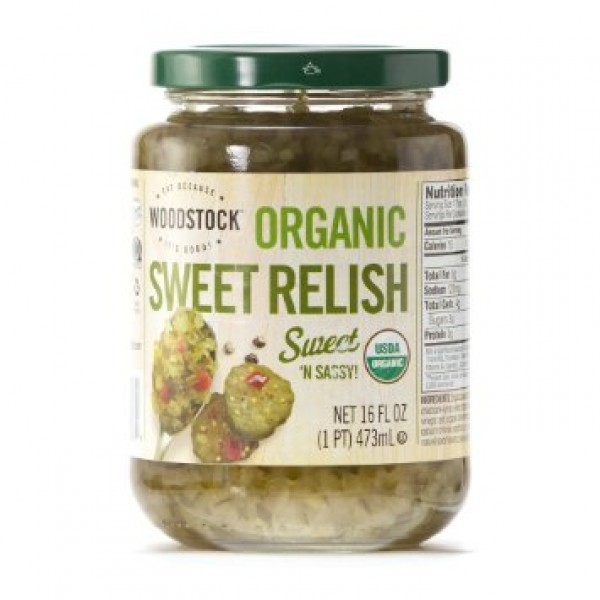 Woodstock Woodstock Organic Sweet Relish 16 oz