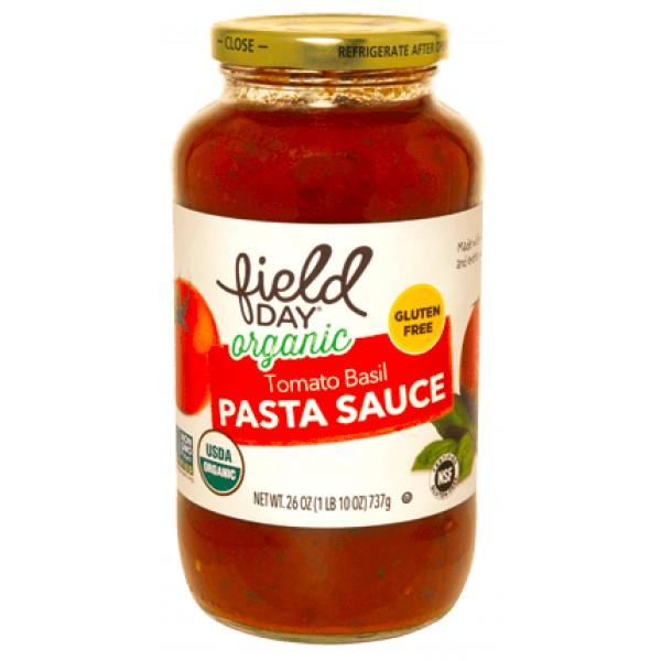 Field Day Field Day Tomato Basil Pasta Sauce 26 oz