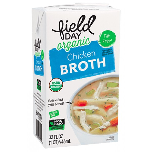 Field Day Field Day Chicken Organic Broth 32 oz