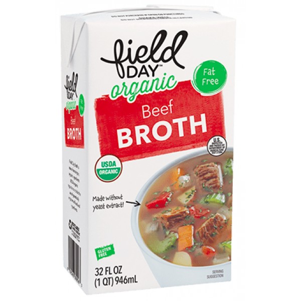 Field Day Field Day Organic Beef Broth 32 oz