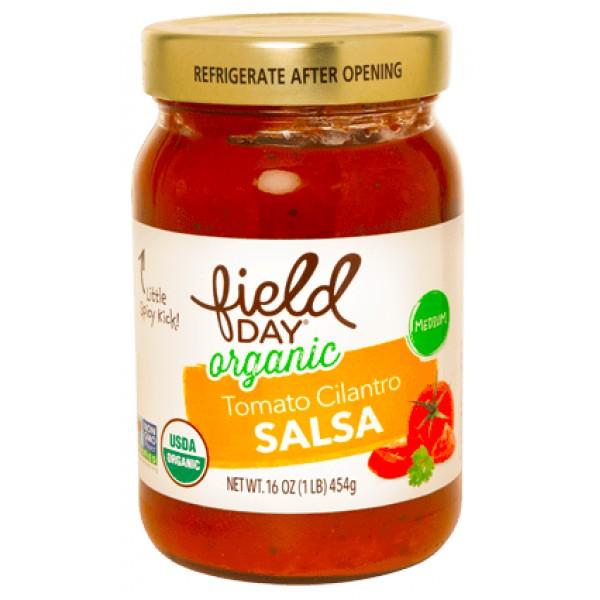 Field Day Field Day Organic Tomato Cilantro Salsa 16oz