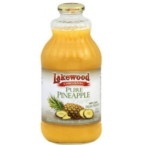 Lakewood Lakewood Pure Pineapple Juice 32 oz