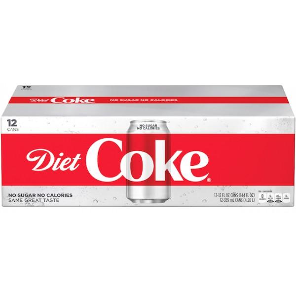 Coke Coke Diet 12 pk