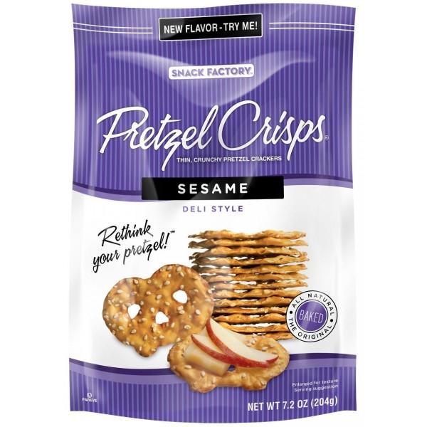 Pretzel Crisps Pretzel Crisps Sesame 7.2 oz