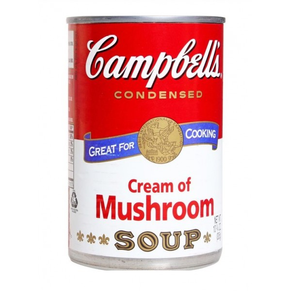 Campbells Cream of Mushrooms Soup 10 oz