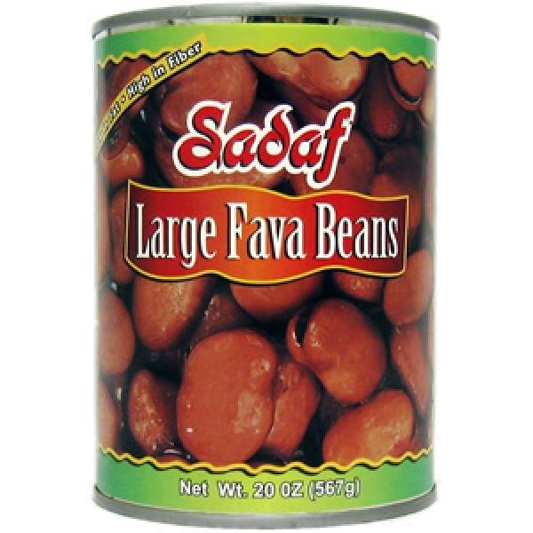 Sadaf Large Fava Beans can 20 oz