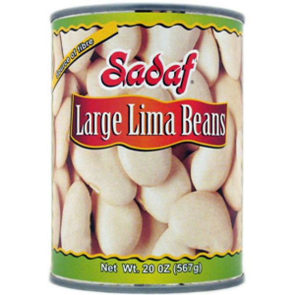 Sadaf Large Lima Beans can 20 oz