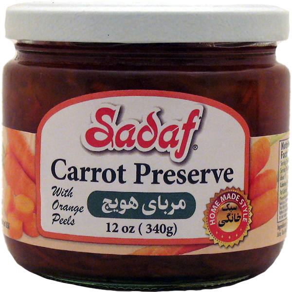 Sadaf Carrot Preserve 12 oz