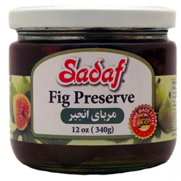 Sadaf Fig  Preserve 12 oz.
