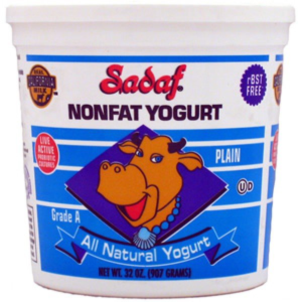 Sadaf Sadaf Non Fat Yogurt 32 oz