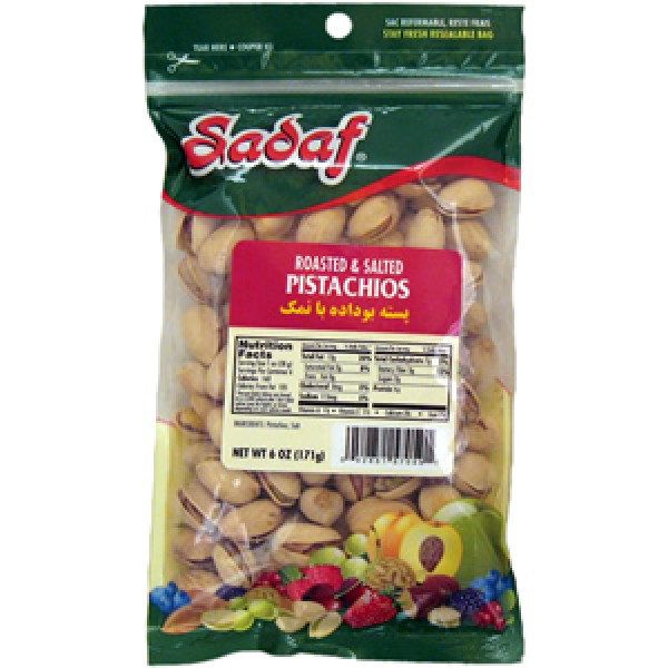 Sadaf Sadaf Roasted Salted Pistachios 6 oz