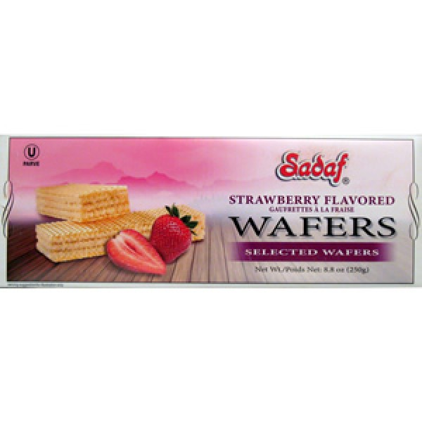 Sadaf Sadaf Wafers Strawberry 8.8 oz