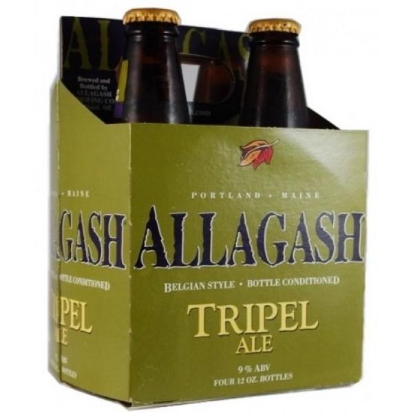 Allagash Tripel Ale 12 oz btl 4pk