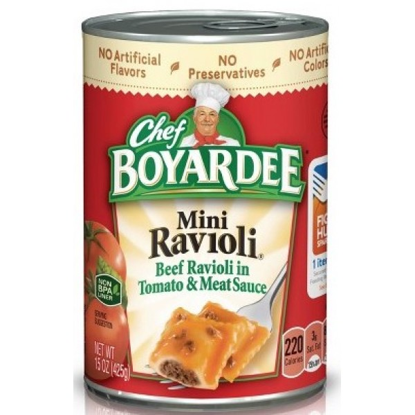 Boyardee Mini Ravioli 15 oz