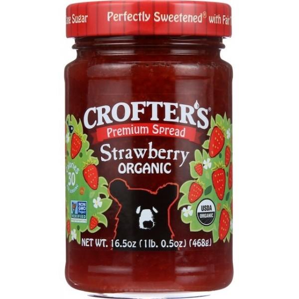 Crofters Organic Strawberry Spread 16.5 oz