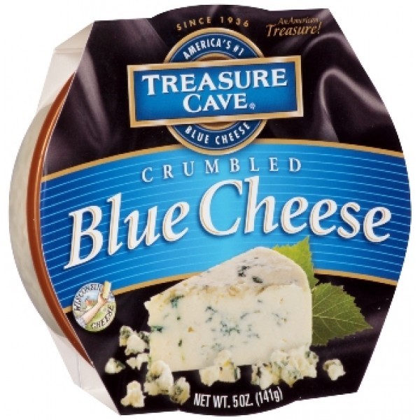 Treasure Cave Treasure Cave Blue Cheese Crumbled Cup 5 oz