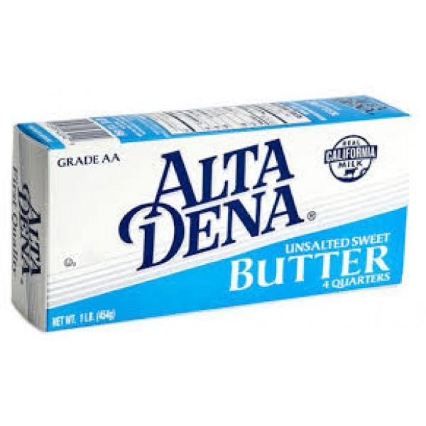 Alta Dena Alta Dena Butter Solid Grd Aa Unsalted 8 oz