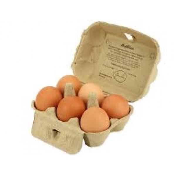 Alta Dena Organics Alta Dena Organics Free Range Eggs  6 ct