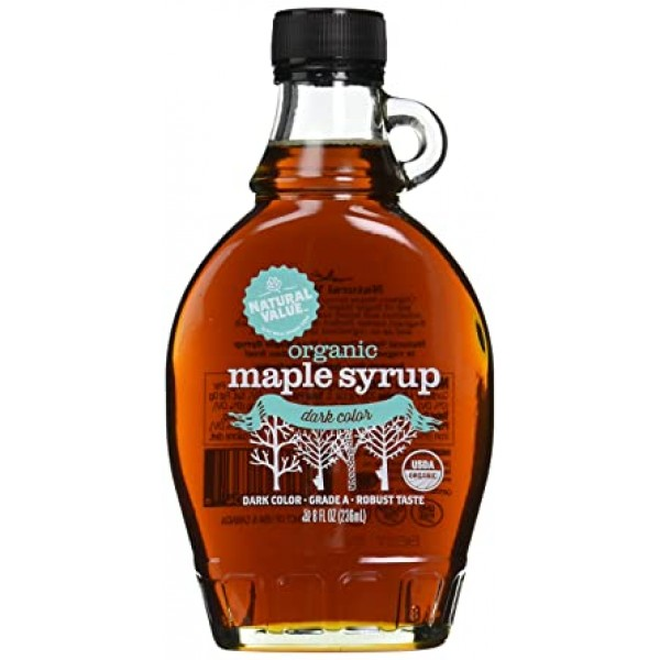Natural Value Maple Syrup Organic 8 oz