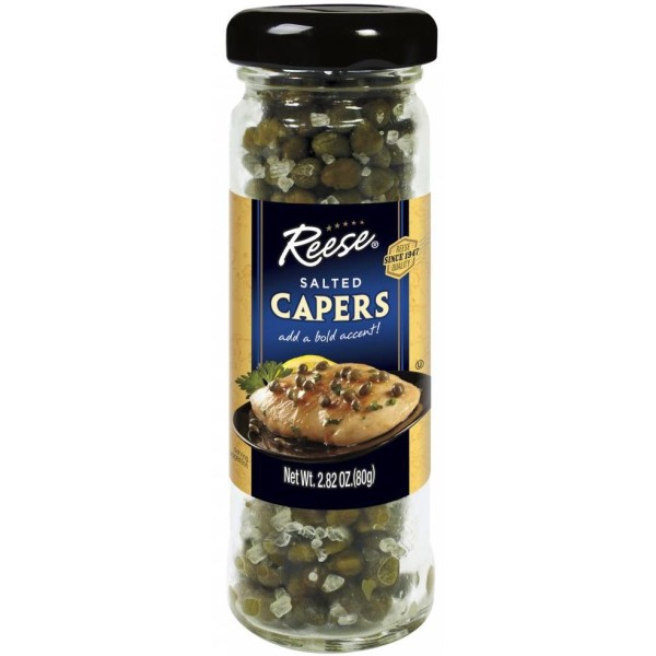 Reese Salted Capers 2.82 oz