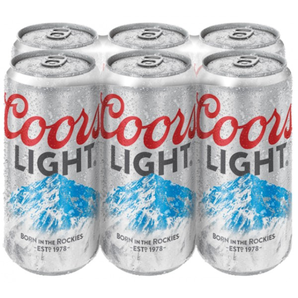 Coors Light Coors Light 12 oz Can 6 pk
