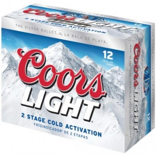 Coors Light Coors Light 12pk can 12 oz