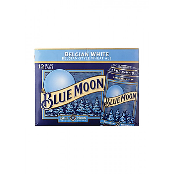 Blue Moon Blue Moon Can 12 pk