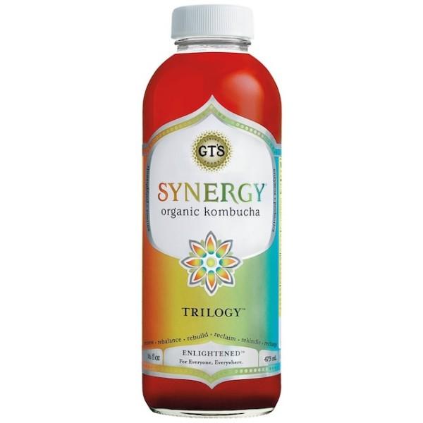GTS Synergy Trilogy Kombucha 16oz