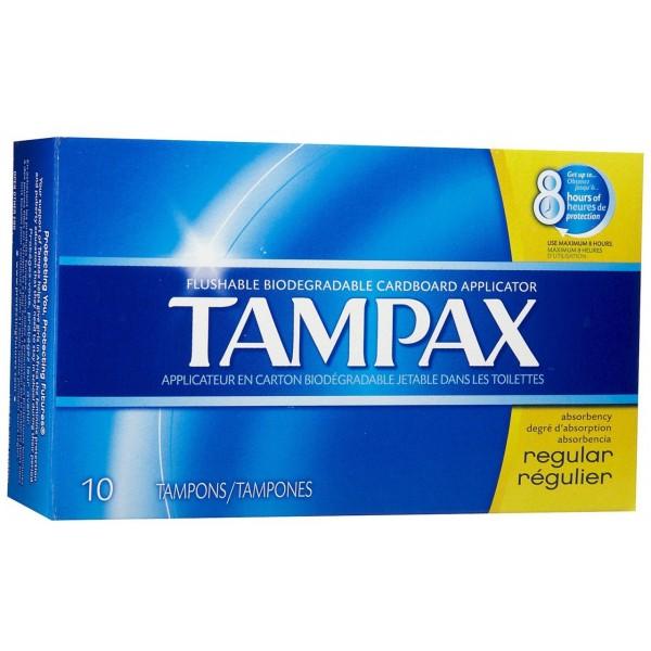 Tampax Tampax Regular 10 ct