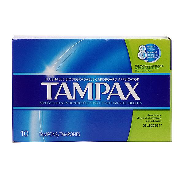 Tampax Tampax Super 10 ct