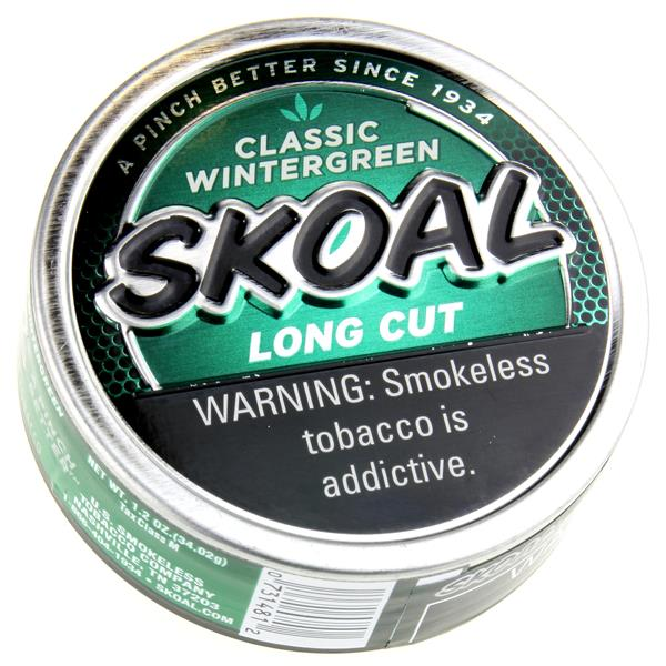 Skoal Long Cut Wintergreen
